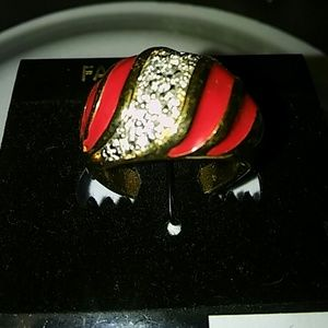 Jewelry - Red and Gold Ring size 6